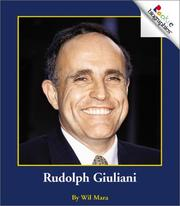 Cover of: Rudolph Giuliani