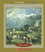 Cover of: The Homestead Act