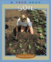 Cover of: Soil (True Books: Natural Resources)