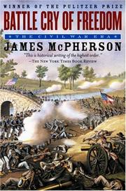 Cover of: Battle Cry of Freedom | James M. McPherson