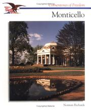 Cover of: Monticello (Cornerstones of Freedom)
