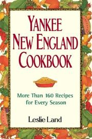 Cover of: Yankee New England Cookbook