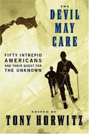 Cover of: The Devil May Care | Tony Horwitz