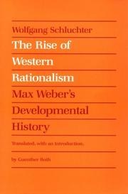 Cover of: Entwicklung des okzidentalen Rationalismus: Max Weber's Developmental History