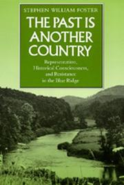 Cover of: The past is another country