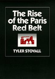 Cover of: The rise of the Paris red belt