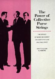 Cover of: The power of collective purse strings | Davita Silfen Glasberg