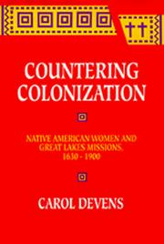 Cover of: Countering colonization