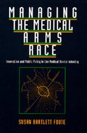 Cover of: Managing the medical arms race