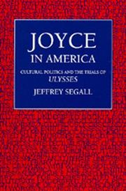 Cover of: Joyce in America | Jeffrey Segall
