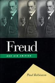Freud and His Critics