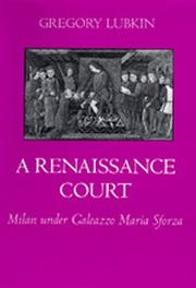 Cover of: Renaissance court | Gregory Lubkin