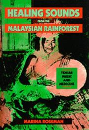 Cover of: Healing Sounds from the Malaysian Rainforest | Marina Roseman