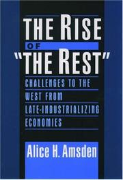 "Cover of: The Rise of ""The Rest"""