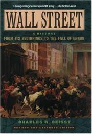 Cover of: Wall Street: A History
