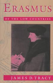 Cover of: Erasmus of the Low Countries