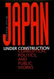 Cover of: Japan under construction | Brian Woodall