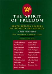 Cover of: The spirit of freedom