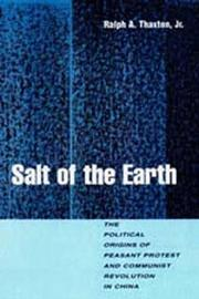Cover of: Salt of the earth