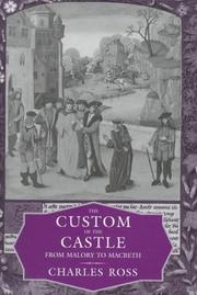 Cover of: The custom of the castle