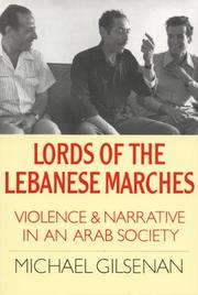 Cover of: Lords of the Lebanese marches | Michael Gilsenan