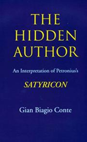Cover of: The Hidden Author