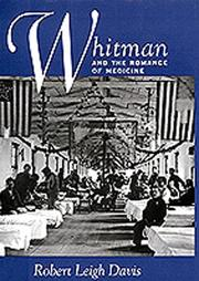 Cover of: Whitman and the romance of medicine
