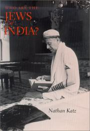 Cover of: Who Are the Jews of India?