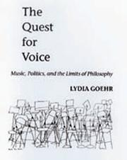 Cover of: The quest for voice