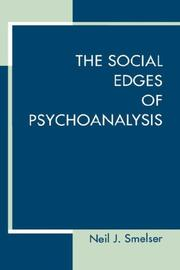 Cover of: The social edges of psychoanalysis
