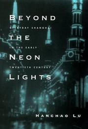 Cover of: Beyond the neon lights | Hanchao Lu