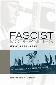 Cover of: Fascist modernities | Ruth Ben-Ghiat