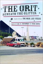 Cover of: The grit beneath the glitter