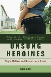Cover of: Unsung heroines