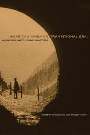 Cover of: American cinema's transitional era