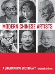 Cover of: Modern Chinese Artists