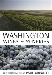 Cover of: Washington wines and wineries