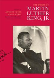 Cover of: The Papers of Martin Luther King, Jr.: Volume VI | Martin Luther King, Jr.