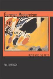Cover of: German Modernism
