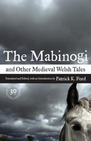 Cover of: The Mabinogi and Other Medieval Welsh Tales