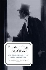 Cover of: Epistemology of the Closet | Eve Kosofsky Sedgwick