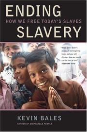 Cover of: Ending slavery