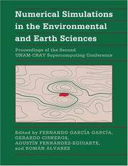 Cover of: Numerical Simulations in the Environmental and Earth Sciences |