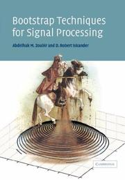 Cover of: Bootstrap Techniques for Signal Processing | Abdelhak M. Zoubir