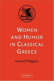 Cover of: Women and Humor in Classical Greece | Laurie O