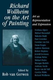 Cover of: Richard Wollheim on the Art of Painting | Rob Gerwen