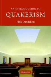 Cover of: An Introduction to Quakerism (Introduction to Religion)
