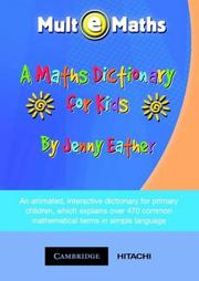 Cover of: A Maths Dictionary for Kids CD-ROM | Jenny Eather