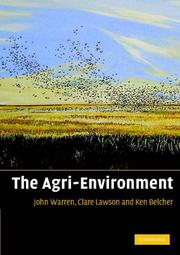 Cover of: The agri-environment |