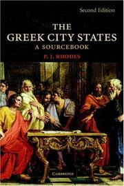 Cover of: The Greek city states